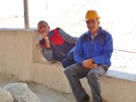 Salt Miners on a Break