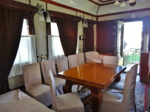 Conference Room on the Railway Carriage