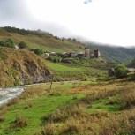 Small Svaneti Village