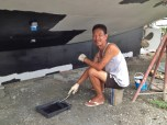 Painting the Antifouling