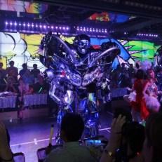 Dancing Robot at Robot Restaurant