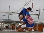 Securing the Bimini Top