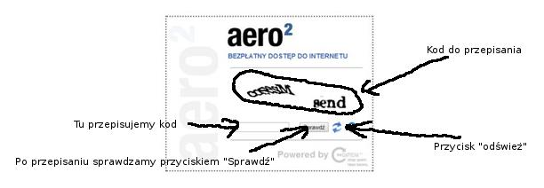 Aero2 - Captcha_postępowanie