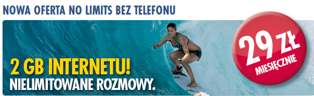 Red Bull Mobile promocja NO-LIMIT 2 GB