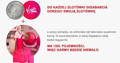 Aukcja_Virgin Mobile_schronisko w Józefowie