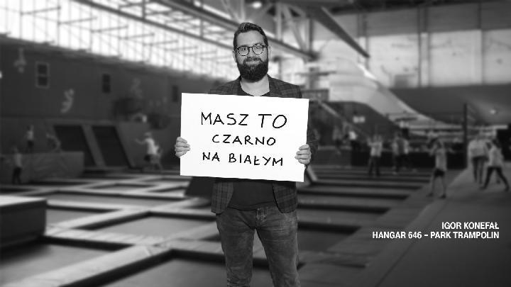 Od posta na Facebooku do dużej kampanii reklamowej, czyli jak twórca Hangaru 646 trafił na bilbordy