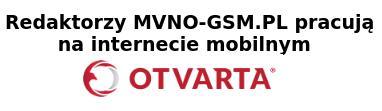 Pracujemy na internecie mobilnym OTVARTA