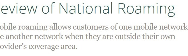 Commerce Commission retains power to regulate national roaming