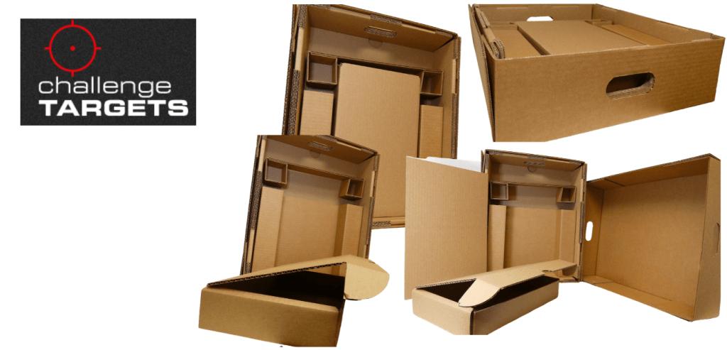 Custom packaging for Challenge Targets.