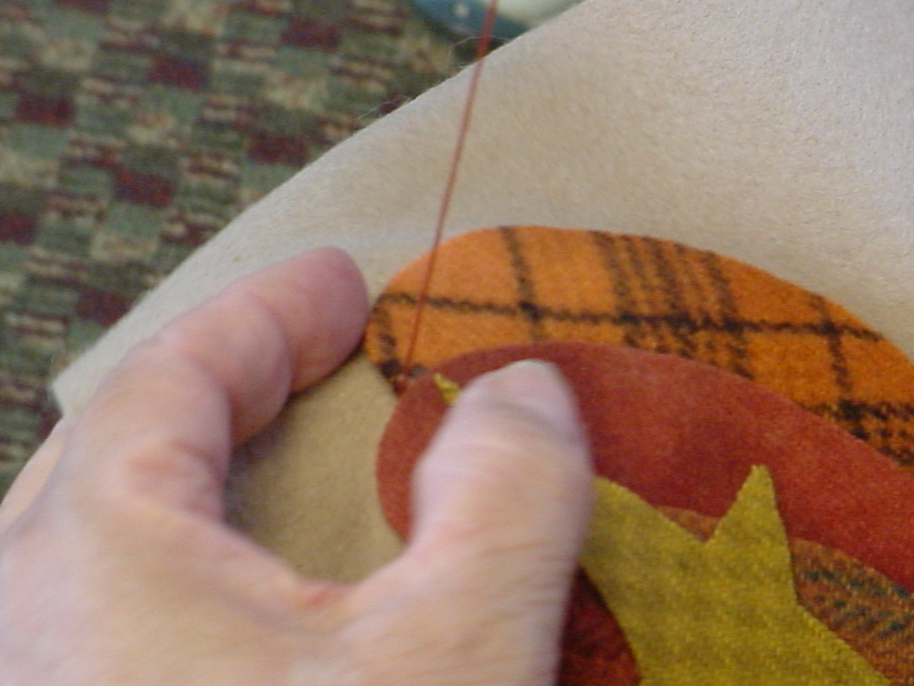 Start with a single stitch