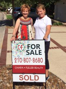 Our Neighbor Treedy (left) was our SUPER Realtor. Michelle (right).