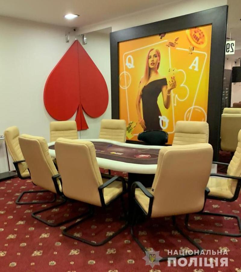 У Києві поліцейські викрили підпільний покерний клуб
