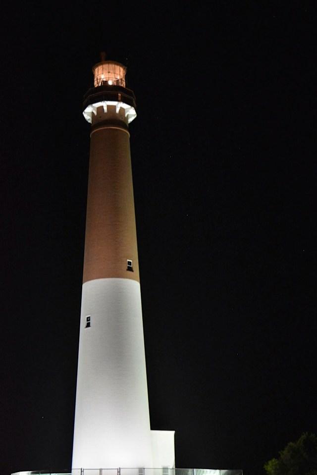 Barnegat Lighthouse, Barnegat Light, New Jersey (USA)  163' (50m)   Built 1859