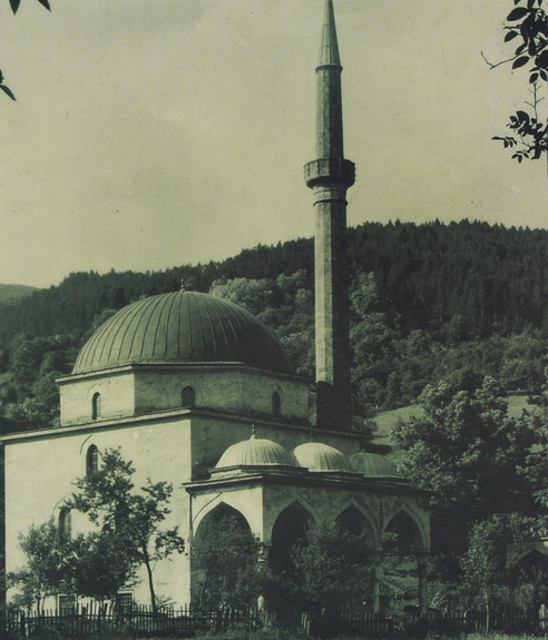 The Aladza Mosque in Foca, Bosnia and Herzegovina.