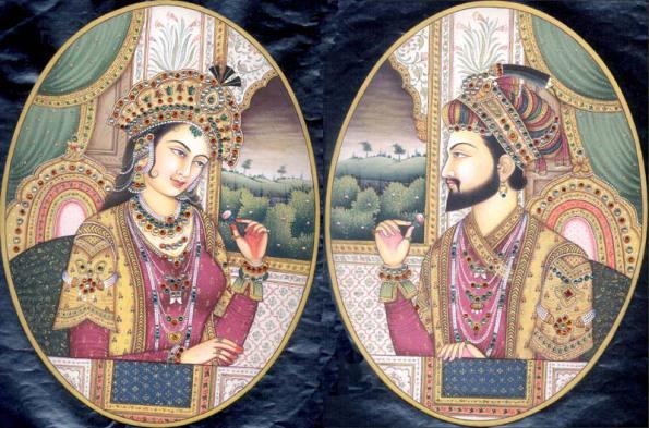 """shah jahan and mumtaz mahal - शाहजहाँ की बड़ी और सबसे लाडली बेटी राजकुमारी """"जहाँआरा बेगम"""""""