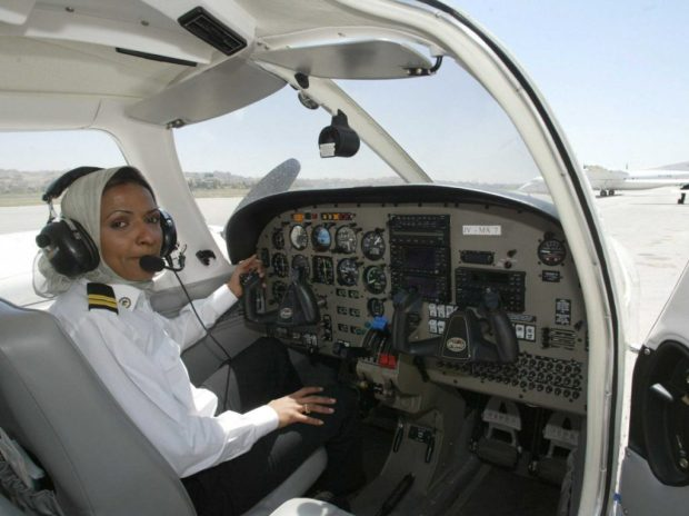 Captain Hanadi Zakariya Al-Hindi is a role model for many other women.
