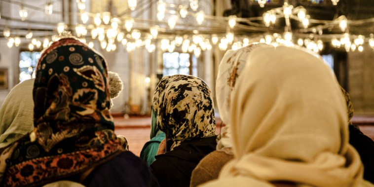 Image result for muslim women in mosque