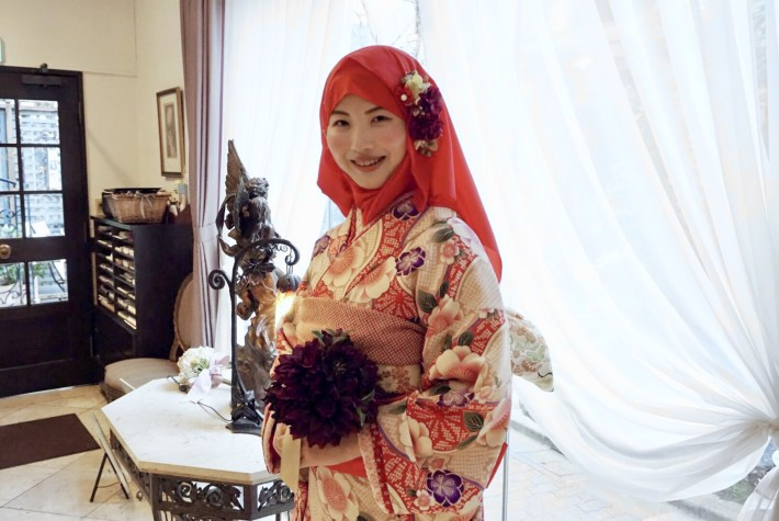 The story of this Japanese woman who converted to Islam