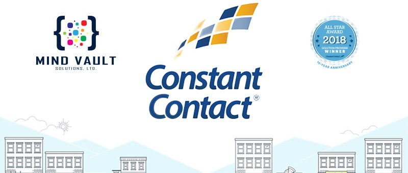 Mind Vault Solutions, Ltd. 2018 Constant Contact Solution Provider All Star Award