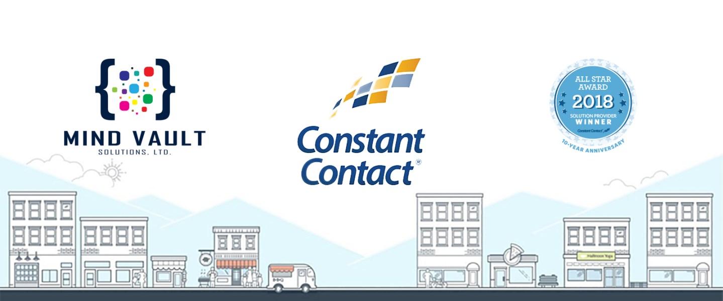 Mind Vault Solutions, Ltd. 2018 Constant Contact Solution Provider All Star Award