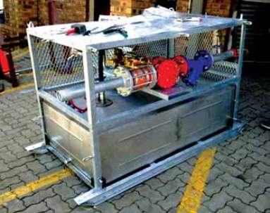 In-line AFFF dosing system in accordance with NFPA 16