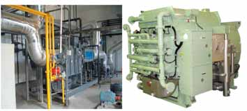 Absorption and Adsorption chillers