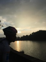 Dusk on Sun Moon Lake