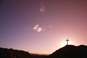 Sunrise Cross Image