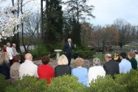 Sunrise Service in the Memorial Garden