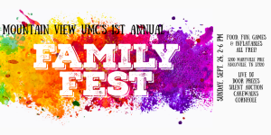 MVUMC 1st Annual Family Fest @ Mountain View UMC | Knoxville | Tennessee | United States