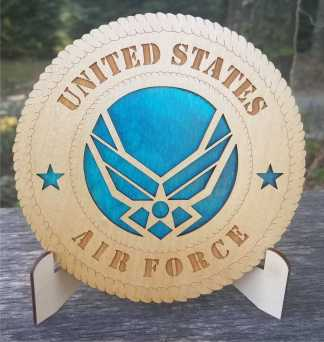 Small Air Force new logo Tribute