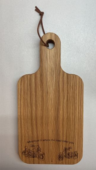 Adventure is where the Road Takes you Cutting Board