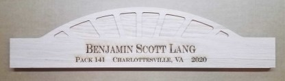 Arrow of Light Style #1 Engraved Plaque
