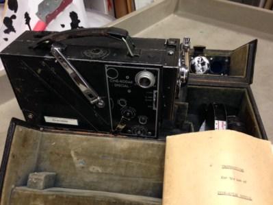 Cine-Kodak Special Movie Camera in case, MVZ, July 9, 2014, by John Hickman.