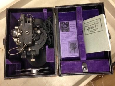 Eastman-Kodak Movie Projector, MVZ, July 9, 2014, by John Hickman.