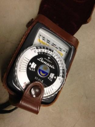 Gossen Lunasix Exposure Meter, MVZ, July 9, 2014, by John Hickman.