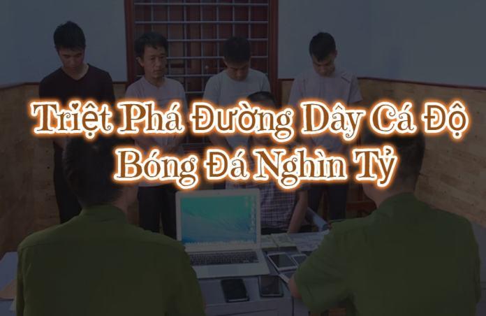 Công an bắt đường dây cá độ bóng đá tiền tỷ tại Hà Nội