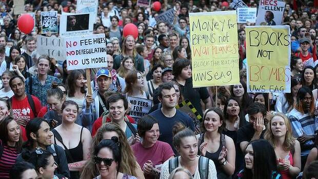 university protest