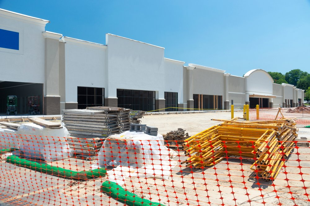 Retail Space Under Construction