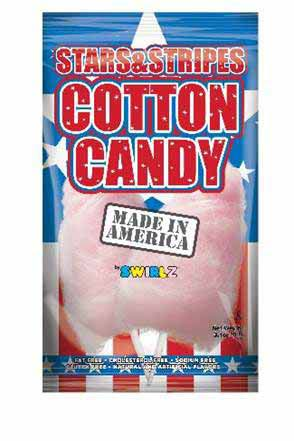 STARS AND STRIPES COTTON CANDY