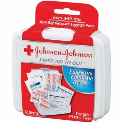 FIRST AID KIT TRAVEL SIZE JOHNSON & JOHNSON