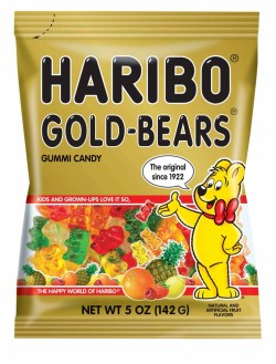 HARIBO GOLD GUMMI BEARS 5 OZ