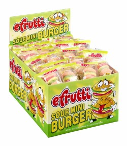 GUMMY SOUR BURGER INDIVIDUALLY
