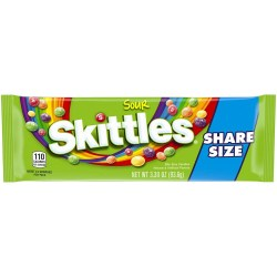 SKITTLES SOURS SHARE SIZE 3.3 OZ