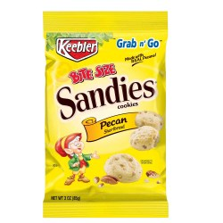 KEEBLER PECAN SANDIES 3 OZ 6 PER BOX