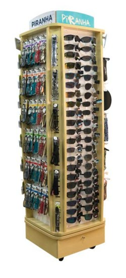84 CNT SUNGLASS, 66 CNT READERS, & HOT TIPS DISPLAY