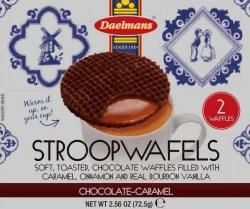 STROOPWAFELS JUMBO CHOCOLATE WAFER 2.56 OZ