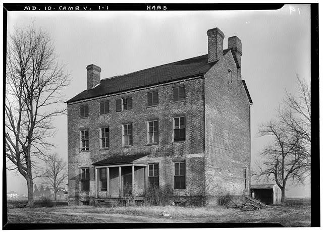 Haunted House, U.S. Route 50 vicinity, Cambridge, Dorchester County, MD
