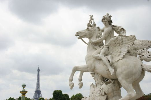 Place de la Concorde. Paris.