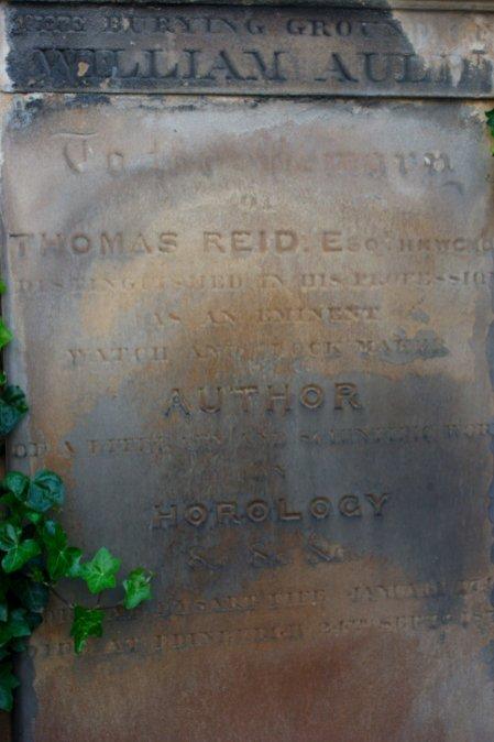 Author of HOROLOGY, Old Calton Hill, Edinburgh, Scotland. Taken by me.